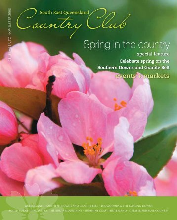 Spring in the country - Queensland Holidays