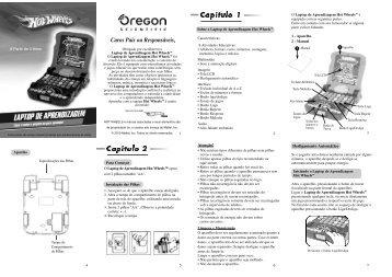 Capítulo 1 Capítulo 2 - Oregon Scientific