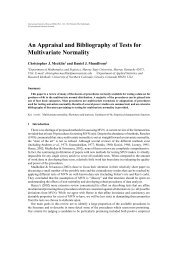 An Appraisal and Bibliography of Tests for Multivariate Normality