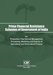 Prime Financial Assistance Schemes of Government of India - CII