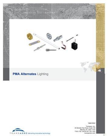 PMA Alternates Lighting - Transaero Inc.