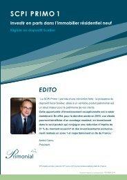 3 volets Primo1 012010:Mise en page 1.qxd - Primonial Services