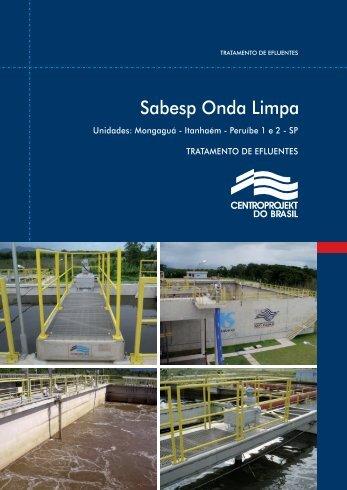 Sabesp Onda Limpa - centroprojekt brasil