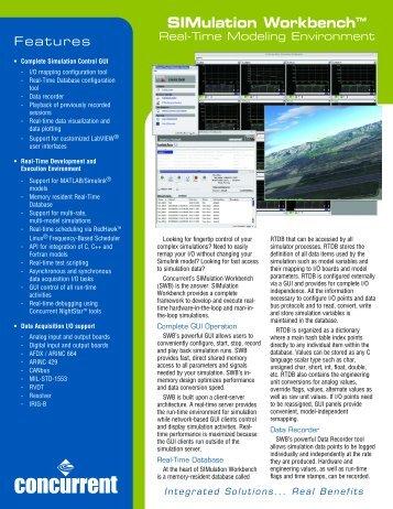 SIMulation WorkbenchTM
