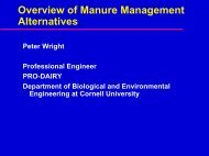 Overview of Manure Management Alternatives