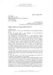 Roma, 27 maggio 2008 Egr. Signor Marco PRATELLESE Direttore ...
