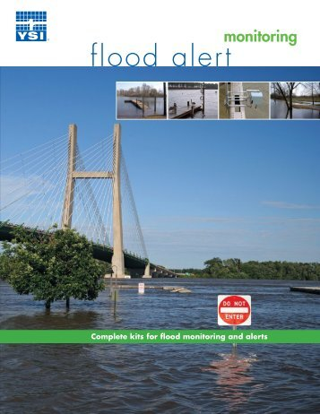 Flood Alert Water Monitoring Systems - Ysisystems.com