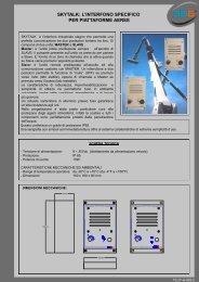 skytalk: l'interfono specifico per piattaforme aeree - 3b6.it