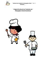 Das Kochbuch der Teeküche - Halepaghen-Schule