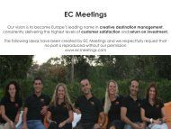 Malta - EC Meetings Presentation