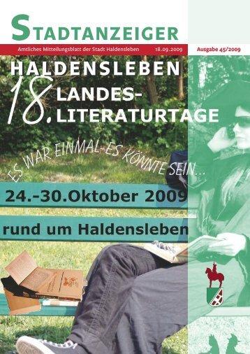 Amtliches - Haldensleben