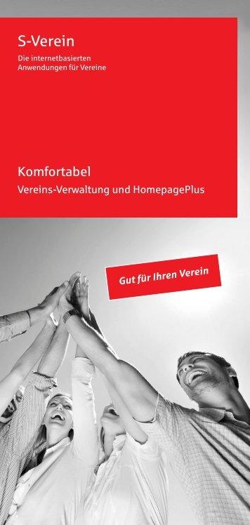 Information zu S-Verein - Stadtsparkasse Hilchenbach