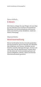 Information zu S-Verein - Stadtsparkasse Hilchenbach - Seite 2