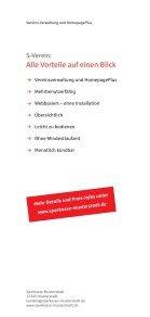 Information zu S-Verein - Stadtsparkasse Hilchenbach - Seite 4