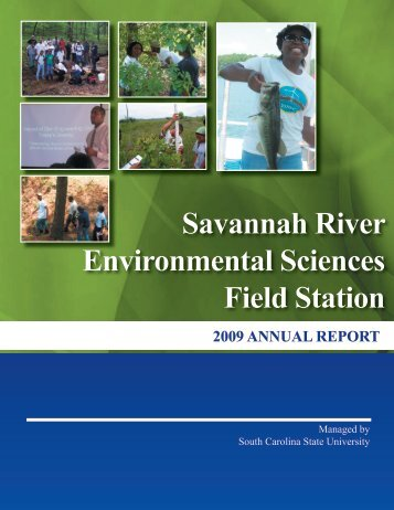 2010 Annual Report - Cnrt.scsu.edu - South Carolina State University
