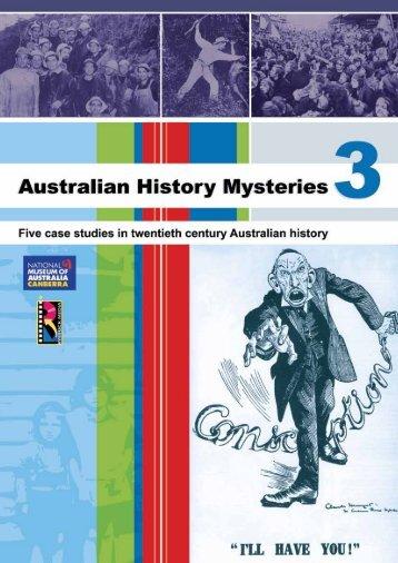Australian History Mysteries 3