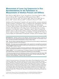 Measurement of Lower Leg Compression In Vivo ...