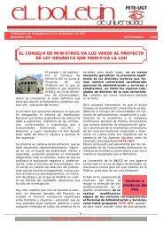 Nº 38, Septiembre 2006. - Sección Sindical de FETE-UGT ...