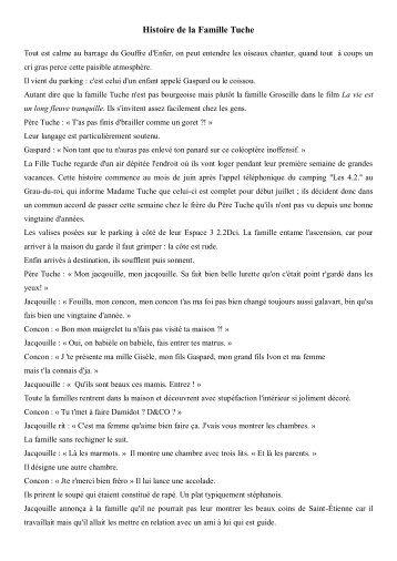 Histoire de la Famille Tuche - Free