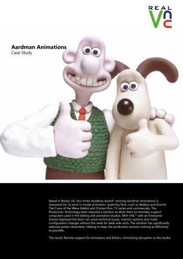 Aardman Animations V5 V2.indd - RealVNC