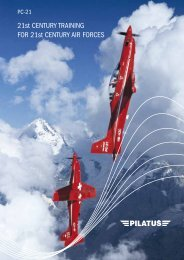 PC-21 Brochure - Pilatus Aircraft