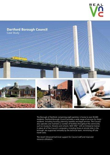 Dartford Borough Council - RealVNC