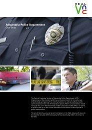 Alexandria Police Department V5.indd - RealVNC