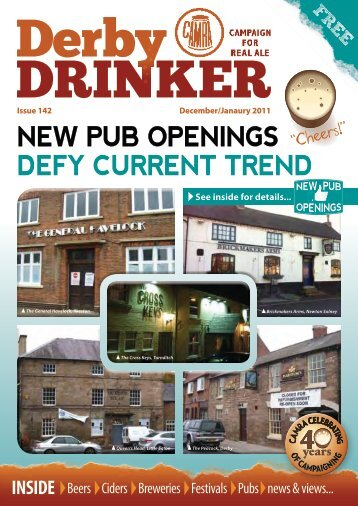 New Pub OPeNiNgs defy curreNt treNd - Derby CAMRA