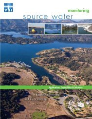 Source Water Monitoring Catalog - YSI Systems