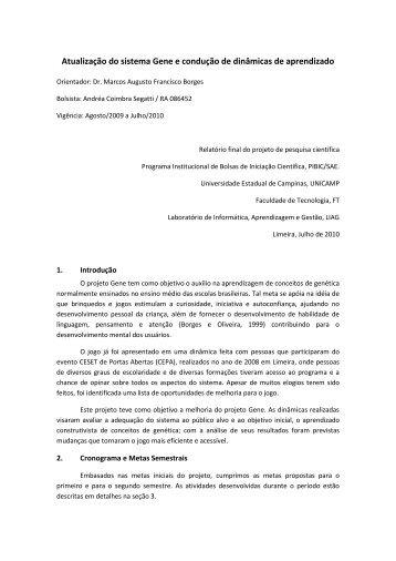 Download - Faculdade de Tecnologia - Unicamp
