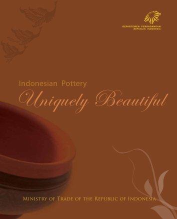 Indonesian Pottery - Kemendag