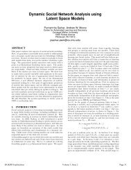 Dynamic Social Network Analysis using Latent Space Models