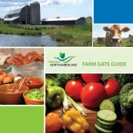 FARM GATE GUIDE - Northumberland County