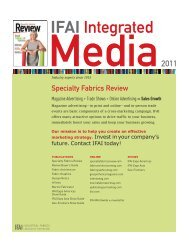 IFAI Integrated - Specialty Fabrics Review