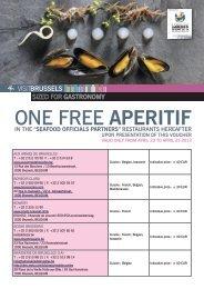 One free APERITIF - VisitBrussels