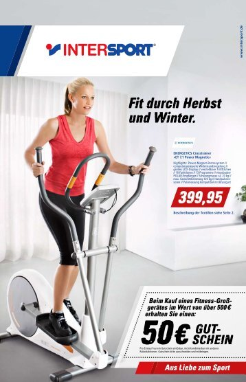 Fit durch Herbst und Winter. - Intersport Erdl