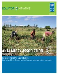 anja miray association - The GEF Small Grants Programme - United ...