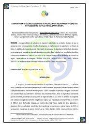 Linhagens Finais Vale Iuiu 0607 - Fundação Bahia