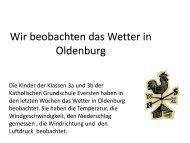 Thermometer - Kath. Grundschule Eversten