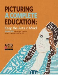 Keep the Arts in Mind - Arts Education Partnership