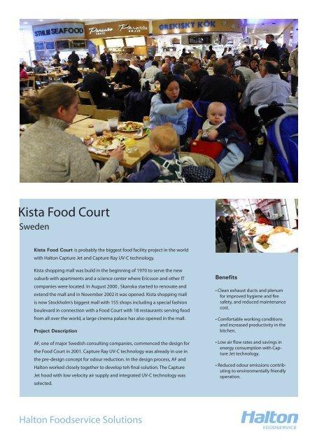 Kista Food Court - Halton