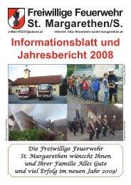 Rundschreiben 2008 - Freiwillige Feuerwehr St.Margarethen