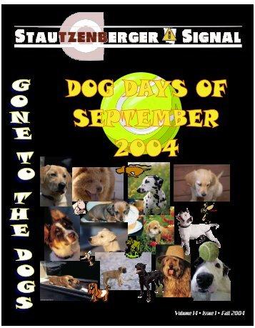 Volume 14 • Issue 1 • Fall 2004 - Stautzenberger College