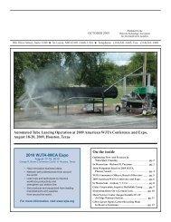 October - Waterjet Technology Association