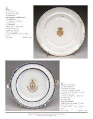 porcelana da China, Companhia das Índias, decoração a ouro com ...