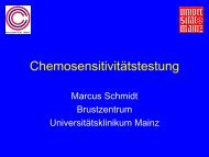 ATP-based Tumor Chemosensitivity Assay - Die Klinik