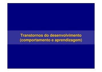 Transtornos do desenvolvimento - Drb-assessoria.com.br
