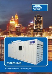 fg wilson p500 4 page folder final new - KEAS Control Systems India ...