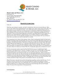 Maui Condo and Home, LLC - MauiCondo.com