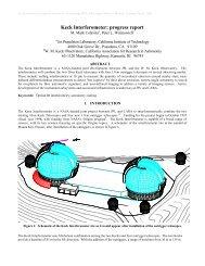 Keck Interferometer: progress report - WM Keck Observatory